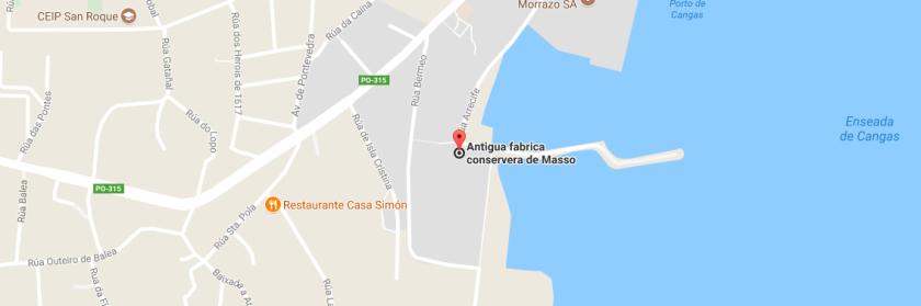 massó, fábrica de conservas, cangas do morrazo, patrimonio industrial, galicia